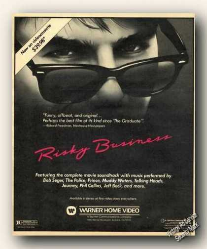 Risky Business Warner Home Video Movie Promo (1983)