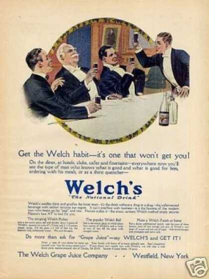 Welch's Grape Juice Color (1914)