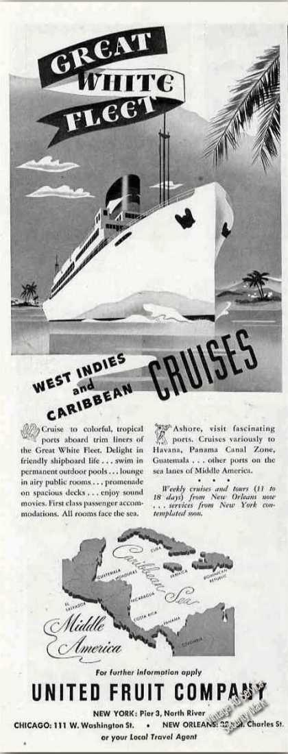 Great White Fleet To West Indies & Caribbean (1948)