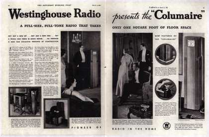 "Westinghouse Electric Corporation's Columaire – Westinghouse Radio presents the ""Columaire"" (1931)"