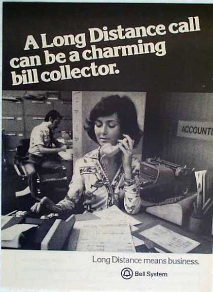 Bell Telephone – Charming Bill Collector (1977)
