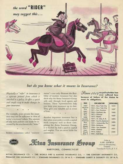 Aetna Insurance Group Merry Go Round (1945)