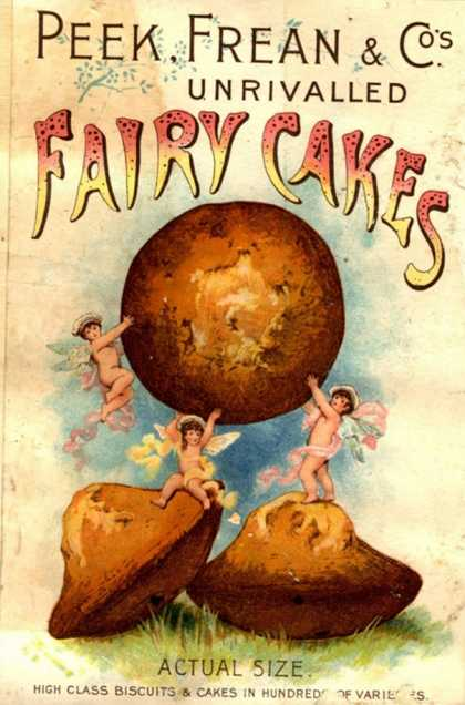 Peek, Frean and Co, Fairy Cakes, UK (1890)