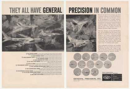 Military Aircraft 13 Model General Precision 2P (1961)