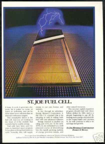 Fuel Cell Module St Joe Minerals Corporation (1981)