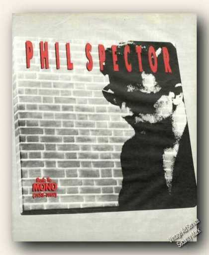 Phil Spector Album Promo Picture Ad Music (1991)