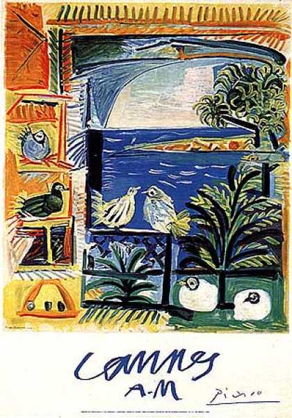 Cannes AM by Pablo Picasso (1950)