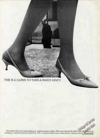 "Gamin Shoes ""To Turn a Man's Fancy"" (1964)"