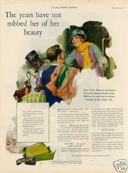 "Palmolive Soap Ad ""The Years Have Not... (1925)"