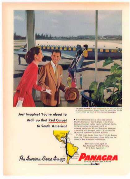 Panagra Airlines – Red Carpet to South America (1952)