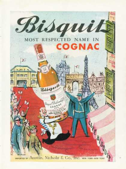 Bisquit Cognac French (1959)