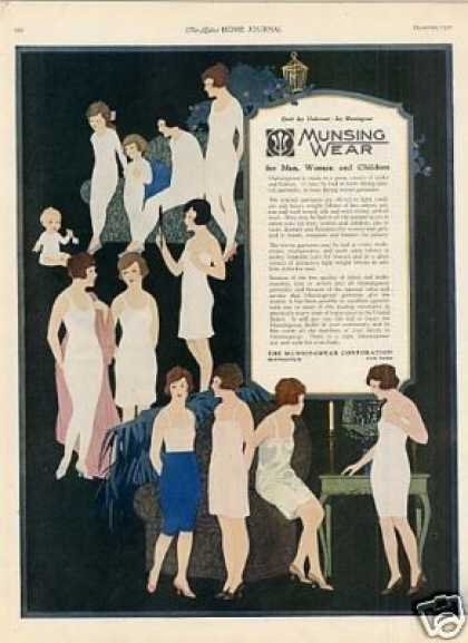 Munsingwear Underwear Color (1921)