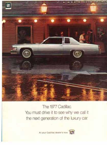 Cadillac Car – Silver / GM (1977)