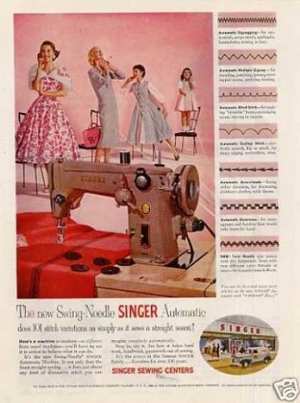 Singer Swing-needle Sewing Machine (1955)