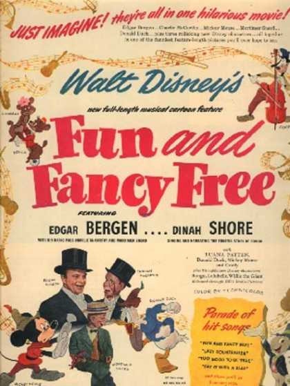 Fun and Fancy Free (Edgar Bergen and Dinah Shore) (1947)