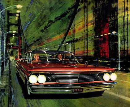 Pontiac Bonneville Vista Art Fitzpatrick and Van Kaufman (1960)