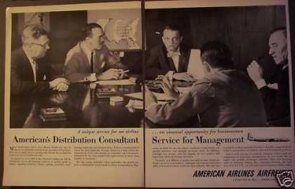 American Airlines Airfreight for Businesses (1956)