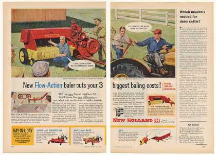 New Holland Super Hayliner 68 Baler 2-Page (1959)