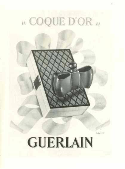 Guerlain Coque D'or Perfume Bottle (1938)