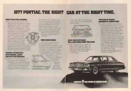Pontiac Bonneville Car – The Right Car at The Right Time (1977)