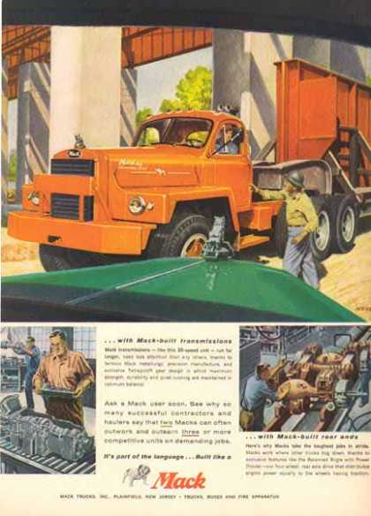 Mack Truck – Big Red Mack Truck – Sold (1958)