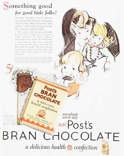 Post&#8217;s Bran Chocolate