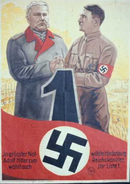Nazi Election Poster (1933)
