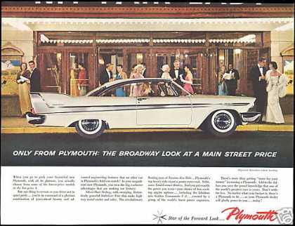 White Plymouth Belvedere 2 Dr Hardtop Photo (1958)