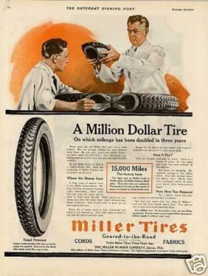 Miller Tires Color (1920)