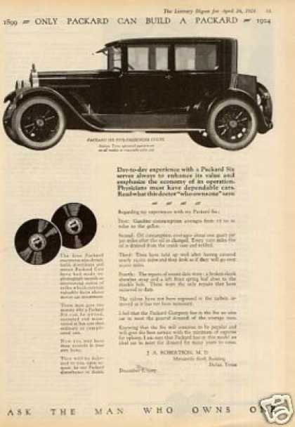 Packard Six Five-passenger Coupe (1924)