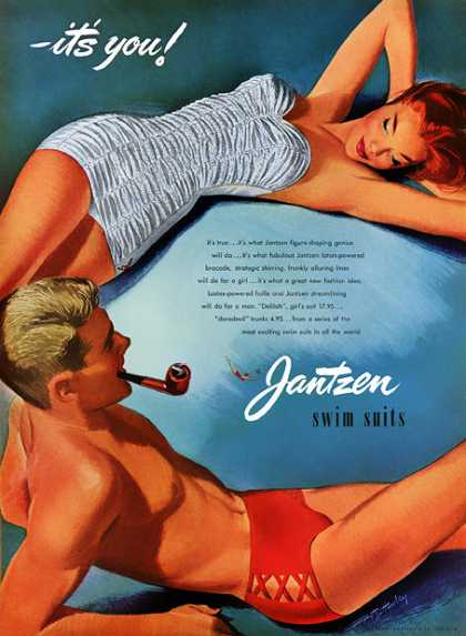 Pete Hawley for Jantzen (1952)