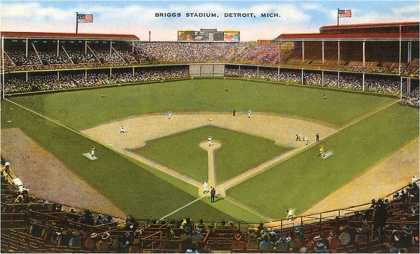 Briggs Stadium, Detroit, Michigan