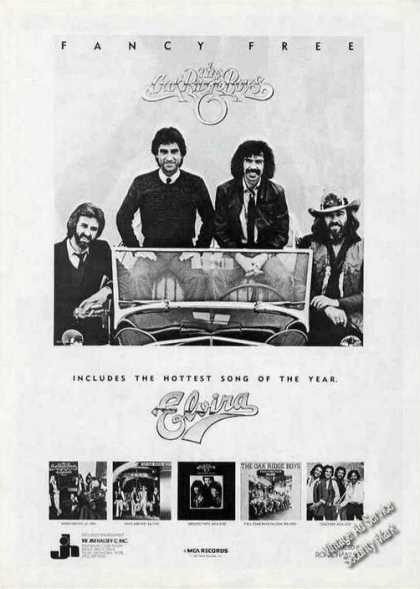 "Oak Ridge Boys ""Fancy Free"" Album (1981)"