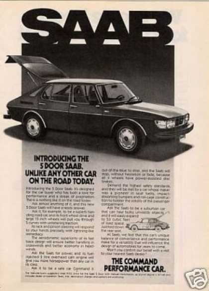 Saab 5-door Car (1977)