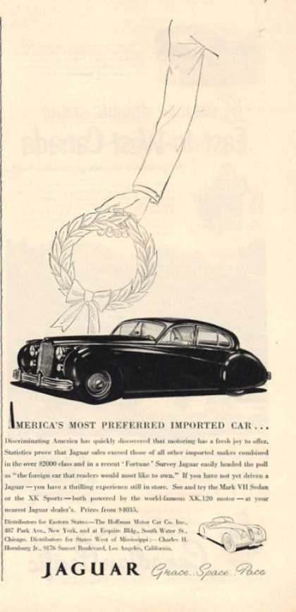 Jaguar Grace Space Pace (1952)