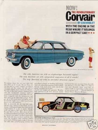 Chevrolet Corvair 700 Car (1960)
