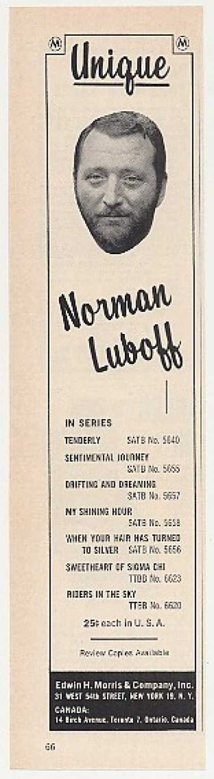 Norman Luboff Edwin H Morris Photo (1964)
