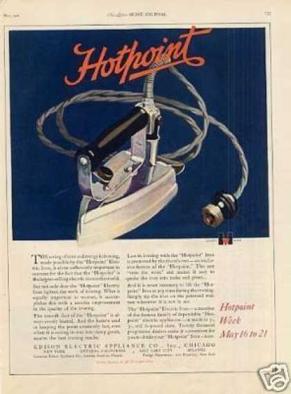 Hotpoint Iron Color (1921)