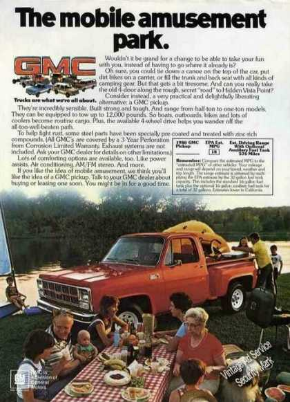 "Gmc Pickup ""The Mobile Amusement Park"" (1980)"