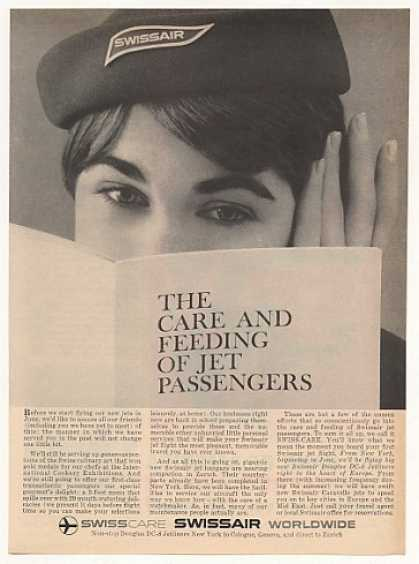 SwissAir Swiss Air Airlines Jet Hostess School (1960)