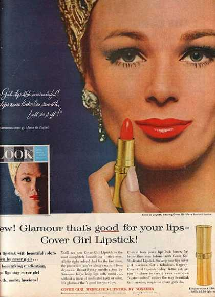 Cover Girl's Medicated Lipstick (1964)