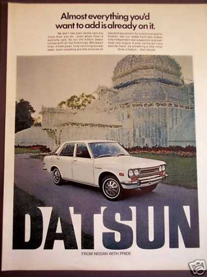 Datsun 510 4-door Sedan Car (1971)