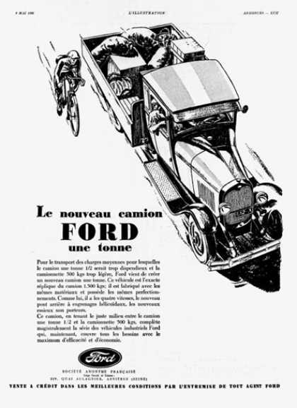 Ford 1 Ton Truck Debut (1930)