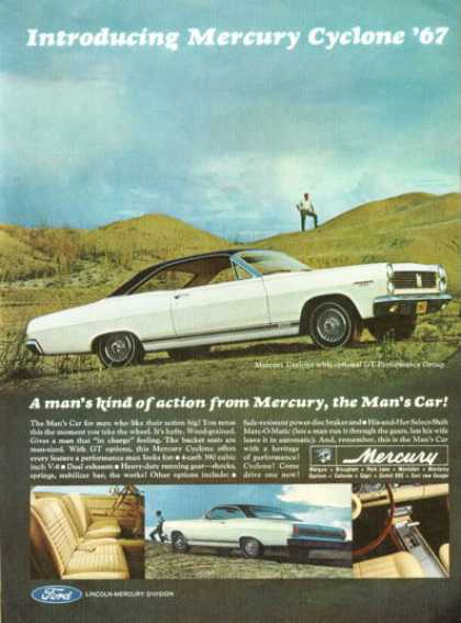 Mercury Cyclone Gt (1967)