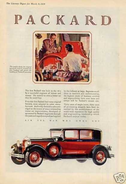 Packard Car Color (1929)