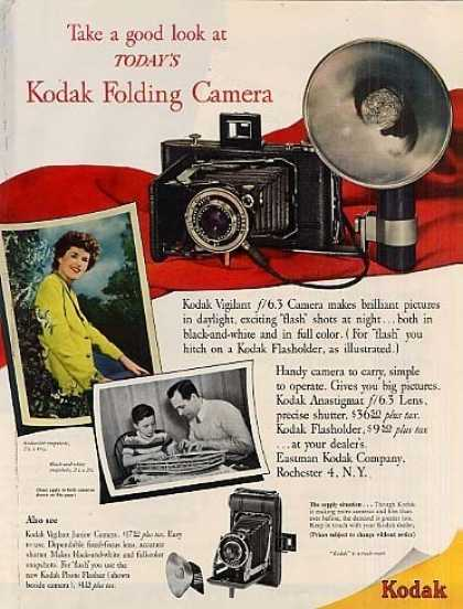 Eastman Kodak Folding Camera (1948)