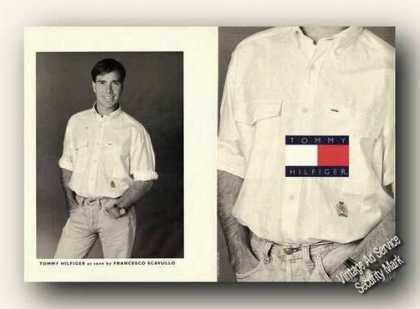 Tommy Hilfiger Photo Fashion Advertising (1991)