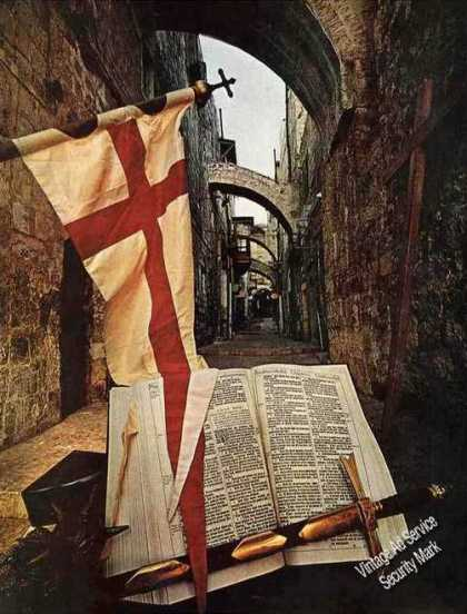 Christianity Via Dolorosa Rare Magazine Photo (1967)