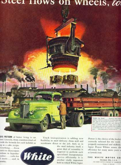 White Trucks White Motor Company Steel Mill (1947)