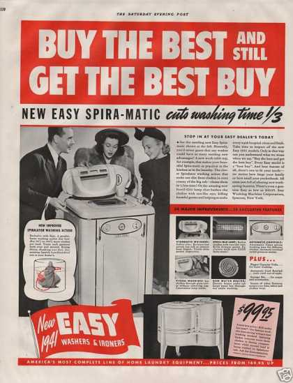 Easy Washers & Ironers (1940)
